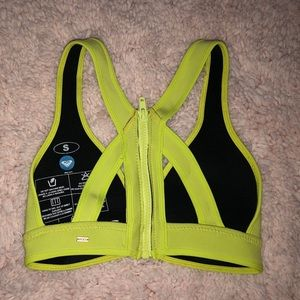Roxy bathing suit top ONLY